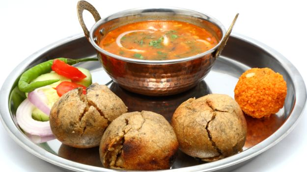 delicious Rajasthani food.