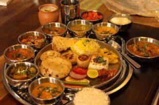 Delicious Rajasthani food