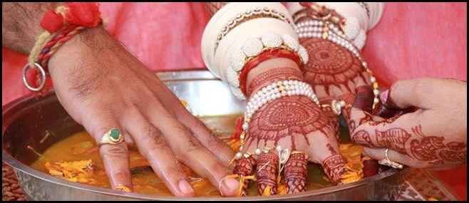 Rajasthani wedding rituaks