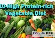 10-High Protein-rich Vegetable Diet