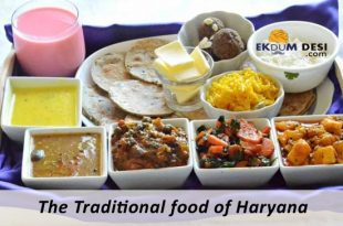 The Traditional food of Haryana