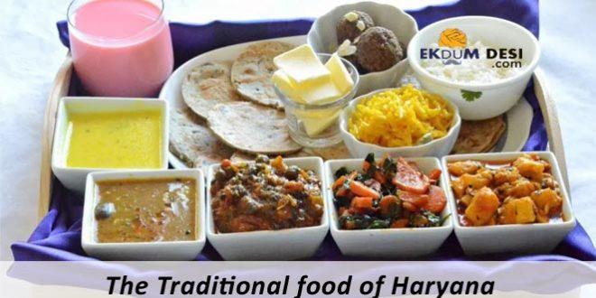 The Traditional food of Haryana