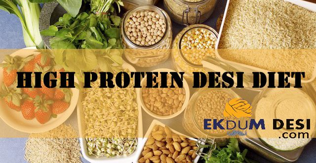 High Protein Desi Diet