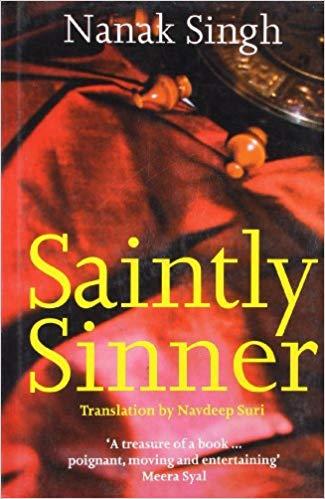 the best punjabi book the saintly sinner image