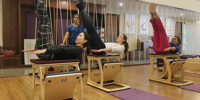 Pilates workout in Bangalore